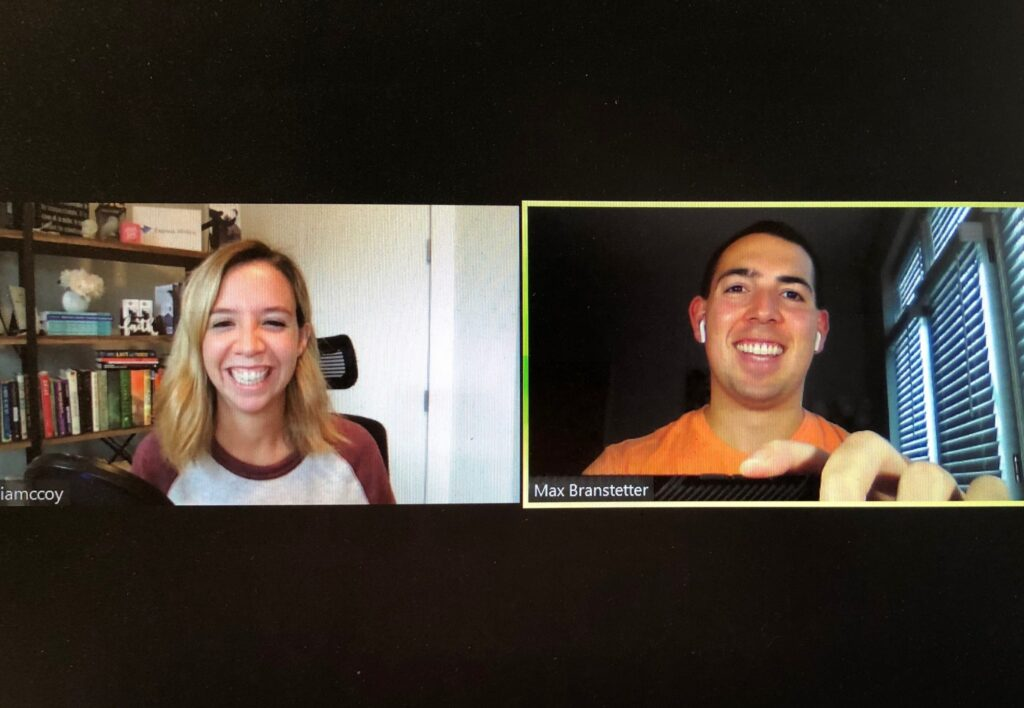 Max Branstetter Julia McCoy - Wild Business Growth Podcast #117 Escaping a Cult, Founder of Express Writers