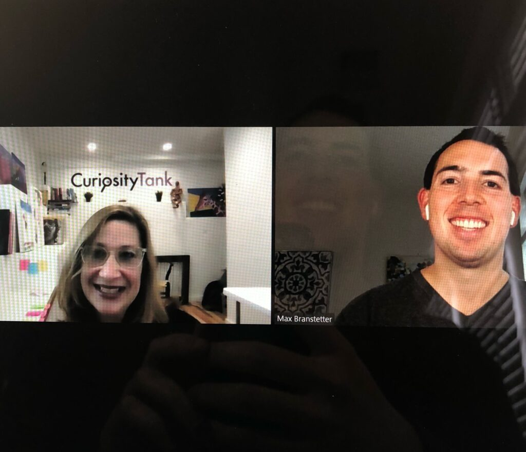 Michele Ronsen Max Branstetter - Wild Business Growth Podcast #133 Curiosity Tank, How to Ask Better Questions