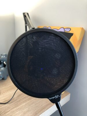 Pop Filter - Why Should You Practice Recording Into Your Podcast Mic?