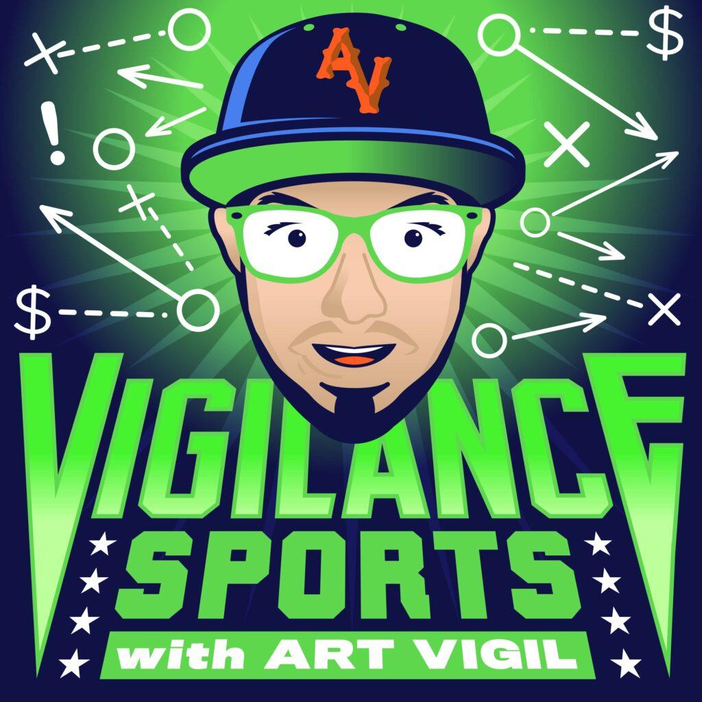 Vigilance Sports with Art Vigil Adam McGinnis MaxPodcasting